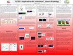 GENUS applications for Alzheimer's Disease Pathology